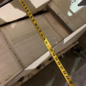 "Rotogran Incline Conveyor 140""L x 16""W"