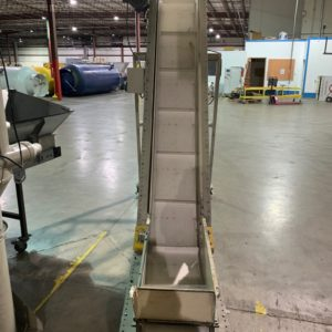 "Rotogran Incline Conveyor 132""L x 14""W"
