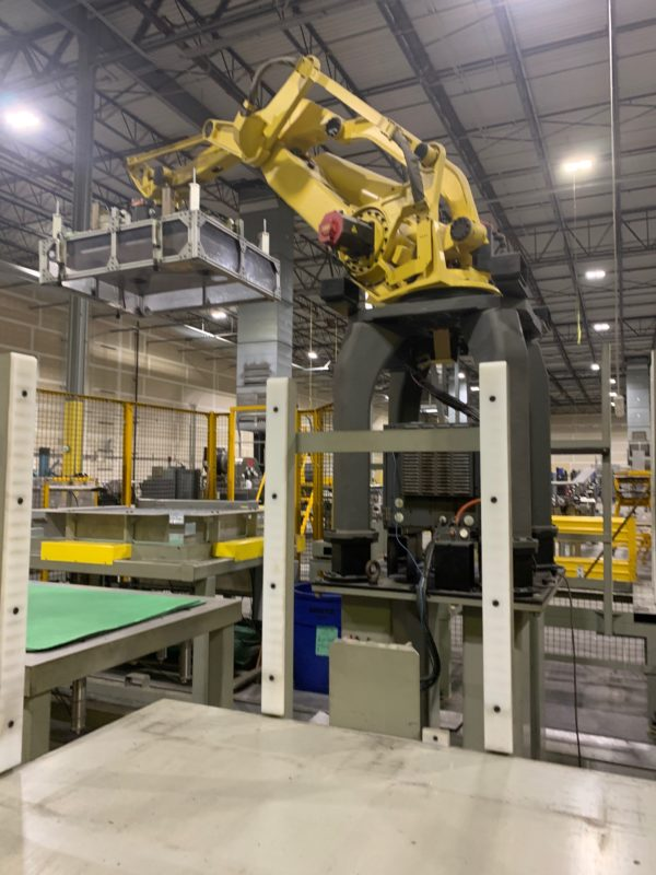 Fanuc Complete Dual Palletizing Cell