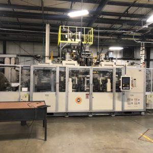 Fong Kee Model HD 250R Continuous Extrusion Blow Molding Machine