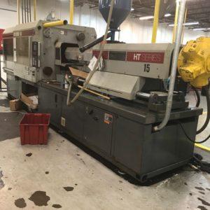 Van Dorn DEMAG Model 400-HT-45-0507 (400) Ton Injection Molding Machine