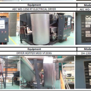Material Dryers and Hoppers