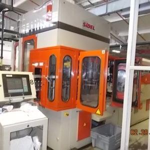 Sidel model SBO 6/10 blow molding machine