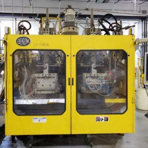 Bekum Model H-155 Continuous Extrusion Blow Molding Machine