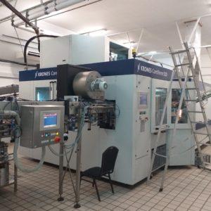 Krones Model Contiform S10 (10) Cavity PET Reheat Stretch Blow Molding Machine