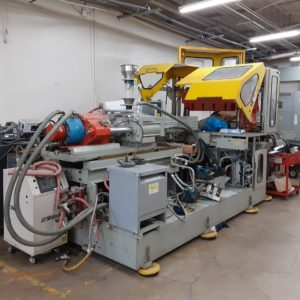 Uniloy Model 122-3 Injection Blow Molding Machine