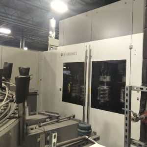 Krones Model Contiform S20 PET Re-heat Stretch Blow Molding Machine