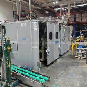 Siapi Model EA7/4 Reheat Stretch Blow Molding Machine
