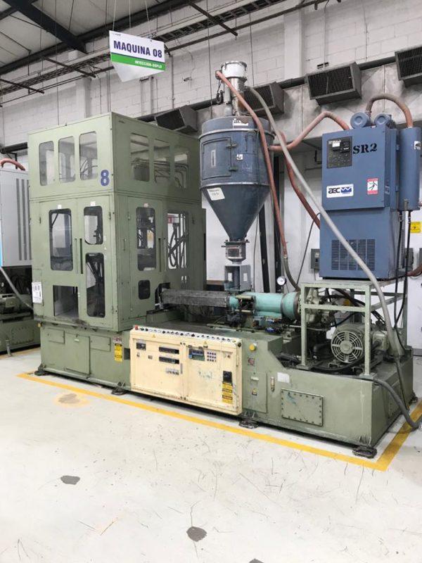 Aoki Model SBIII-250LL-50 PET One Step Stretch Blow Molding Machine