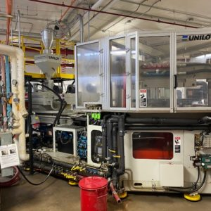 Uniloy Model IBS 189-3S Injection Blow Molding Machine