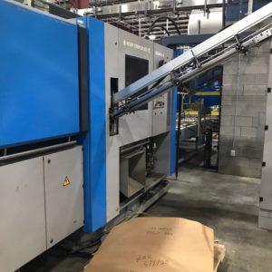 Krupp Corpoplast Model Blomax 6 PET Reheat Stretch Blow Molding Machine