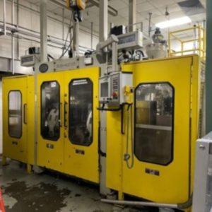 Bekum Model BM-406D Continuous Extrusion Blow Molding Machine Complete Line